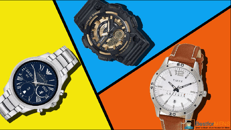 Poster Best Watches Brands For Men in India